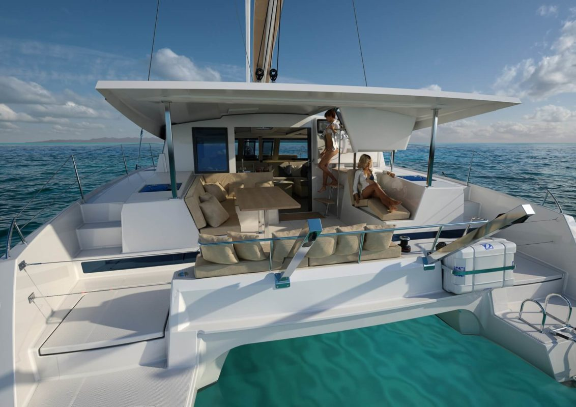 the new fountaine pajot lucia 40 atlantic cruising yachts. Black Bedroom Furniture Sets. Home Design Ideas