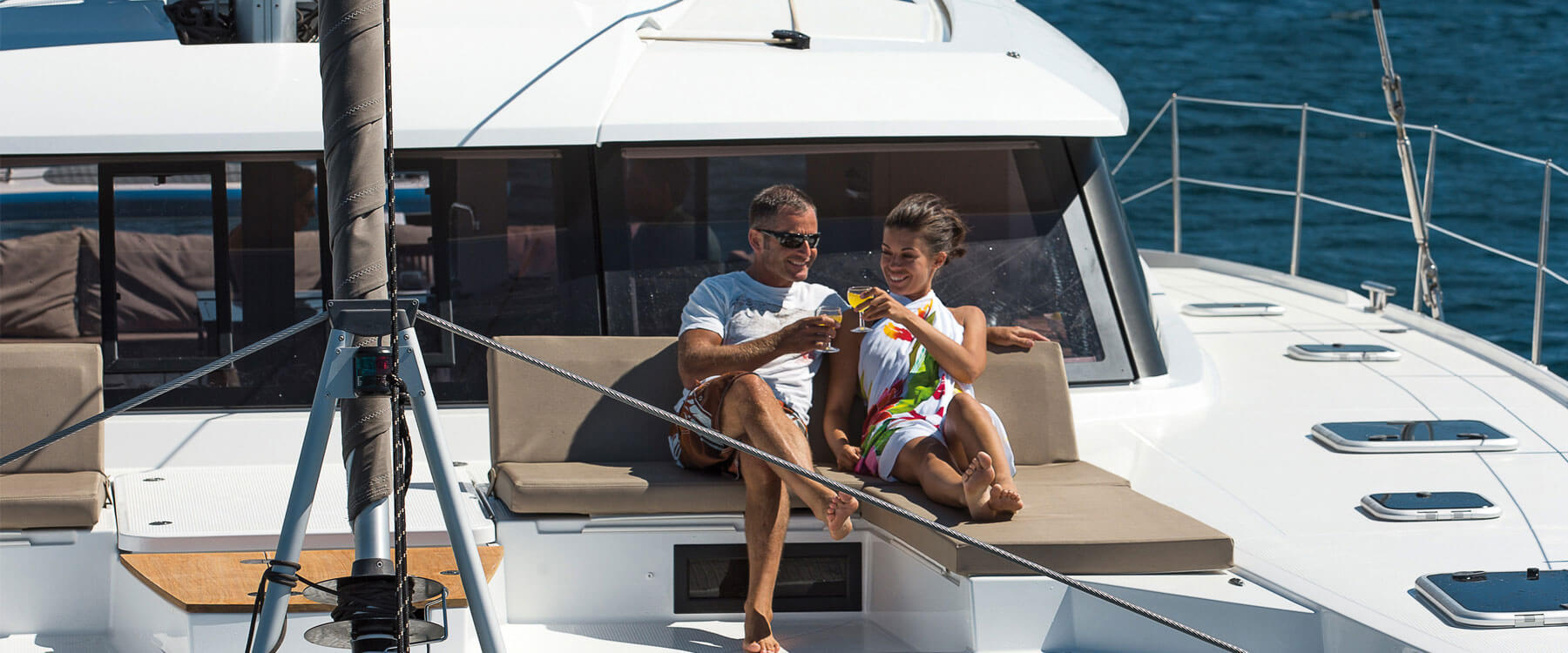 Fountaine Pajot Saba 50 - Commissioning Guide