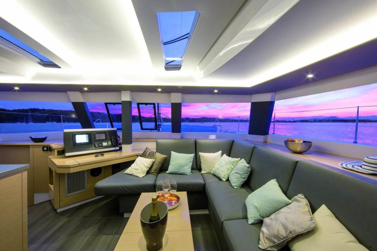 Fountaine Pajot Saba 50 Catamaran   Atlantic Cruising Yachts