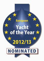 Nominated European Yacht of the Year - 2012/2013