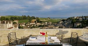 Hostellerie de Plaisance in Saint Emilion