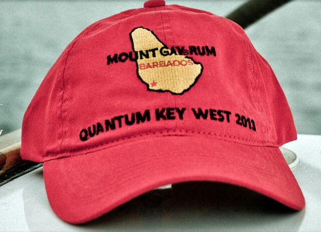 from Graham mount gay baseball cap