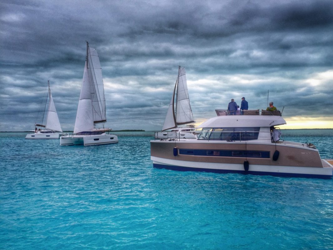 Proud MY37 Owner Participates in Fountaine Pajot Bimini Photo Shoot