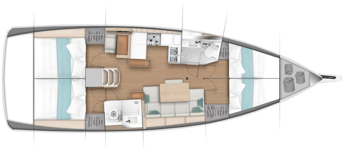 Jeanneau 440 - New! - Atlantic Cruising Yachts, LLC