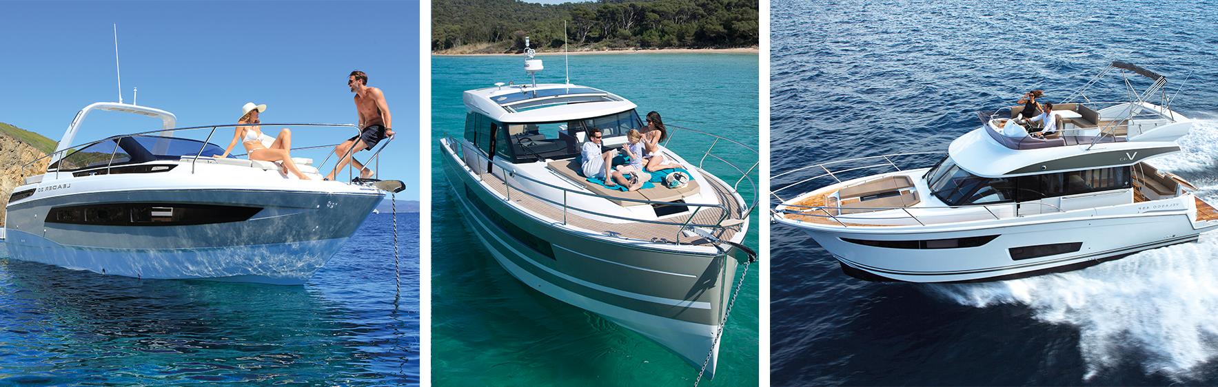 Jeanneau inboard powerboats