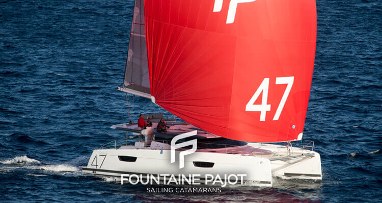 Fountaine Pajot sailing catamaran