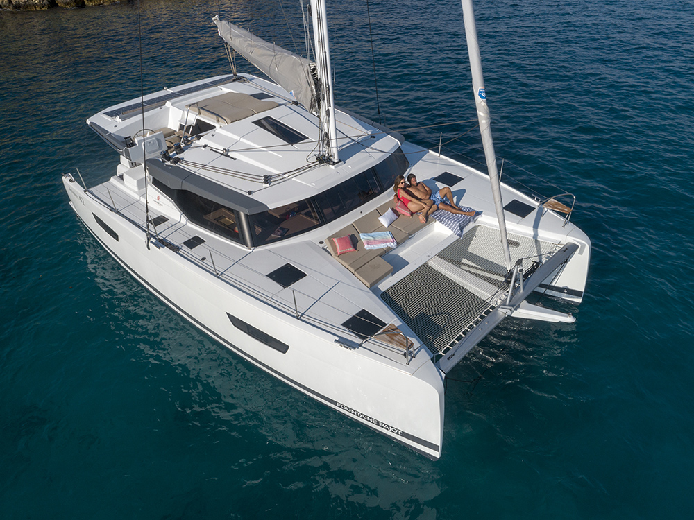 Fountaine Pajot Astrea 42 on water