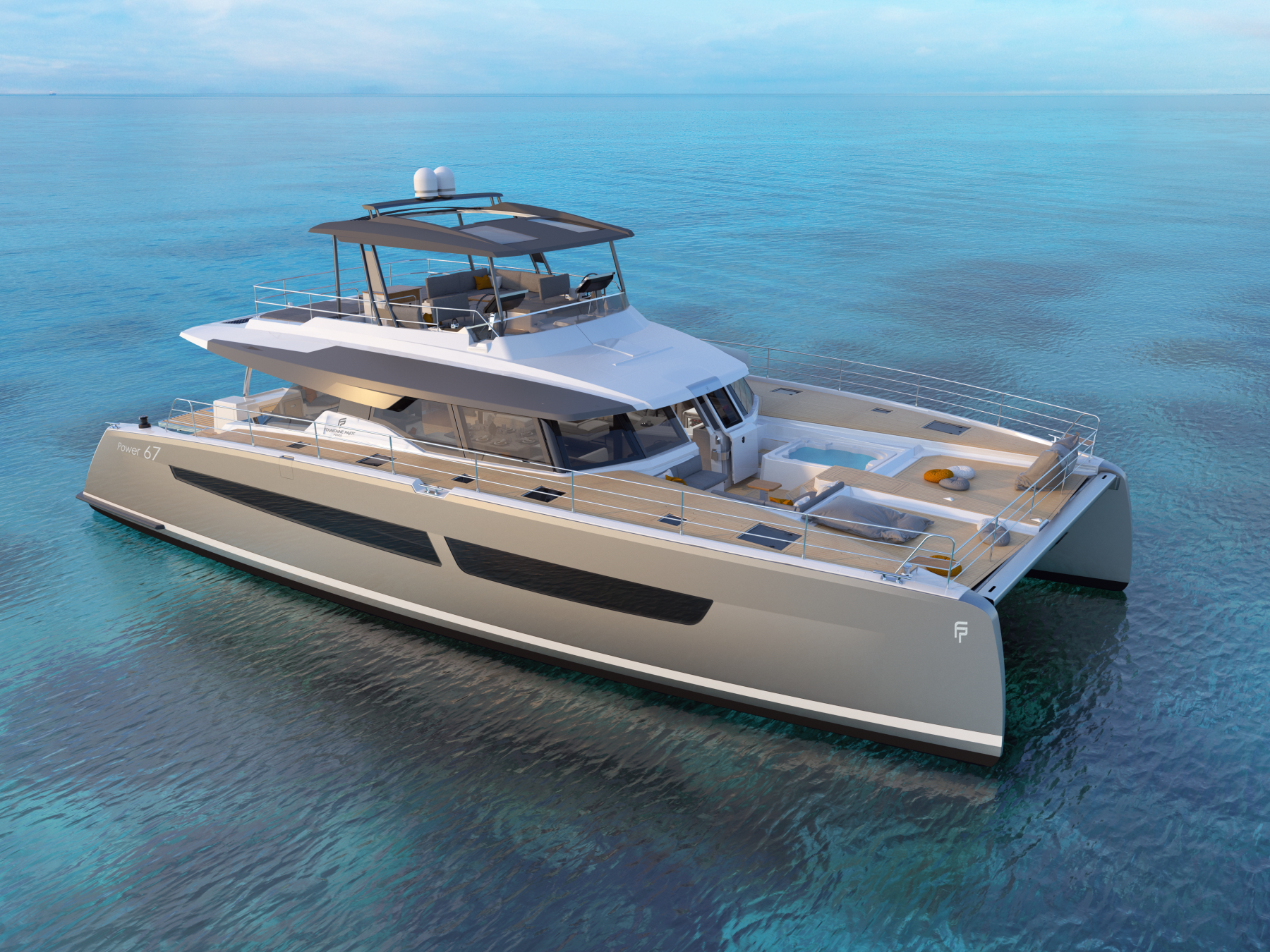 Fountaine Pajot Power 67 exterior