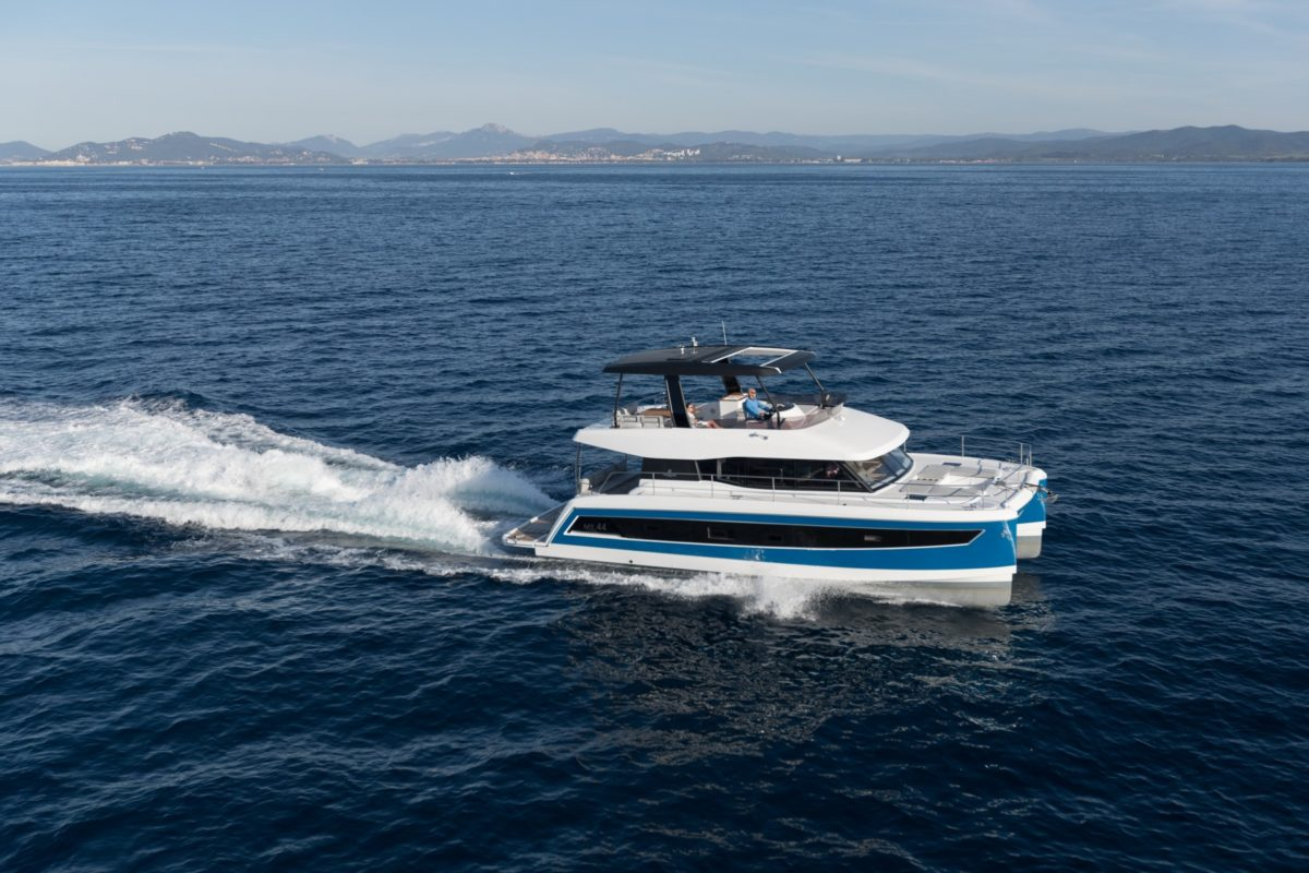 Yacht Spotlight: The Efficient and Spacious Fountaine Pajot MY 44