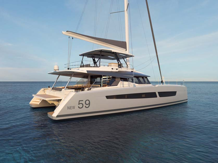 Fountaine Pajot New 59 Preview