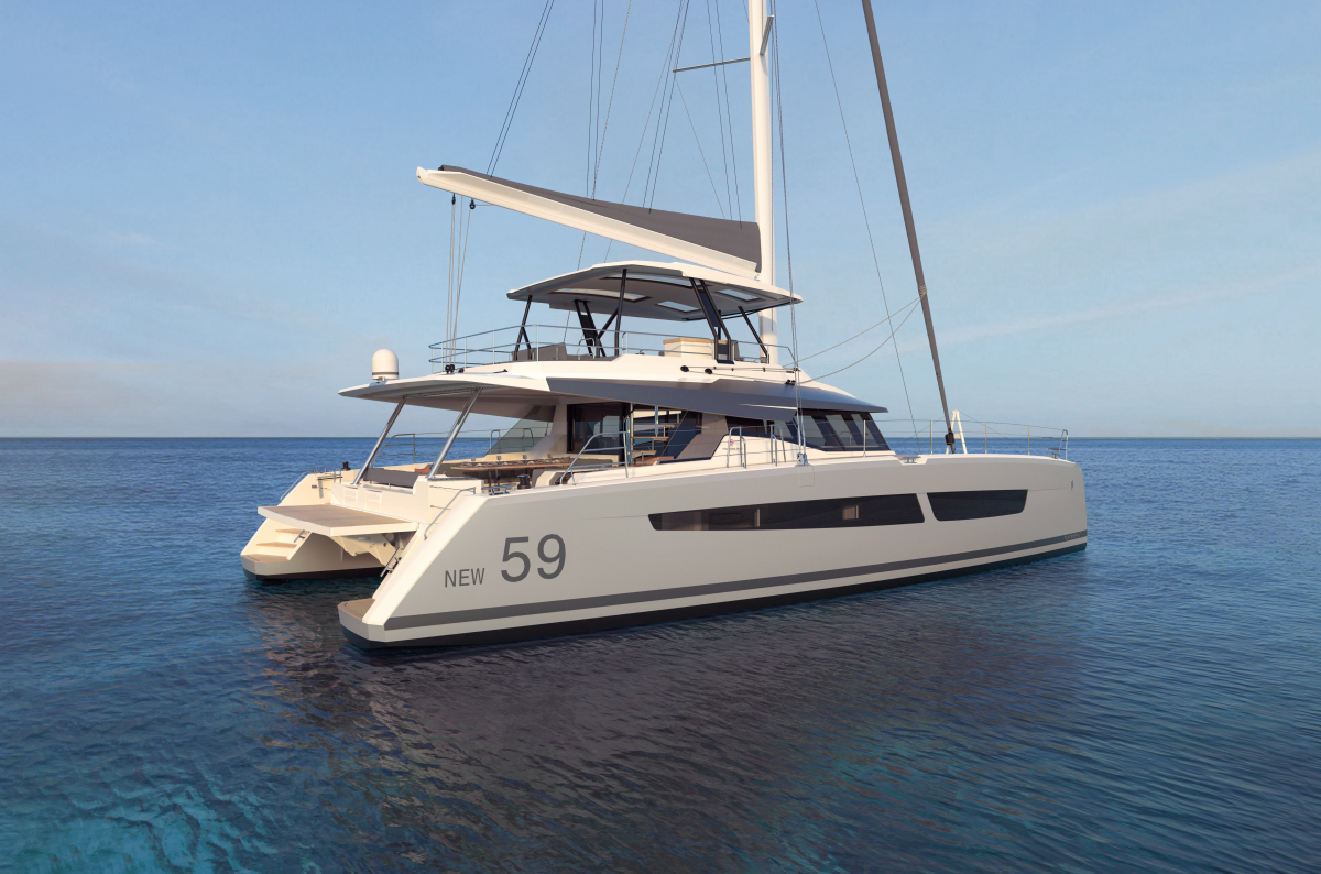 Fountaine Pajot's Newest Flagship Model for 2020: FP New 59